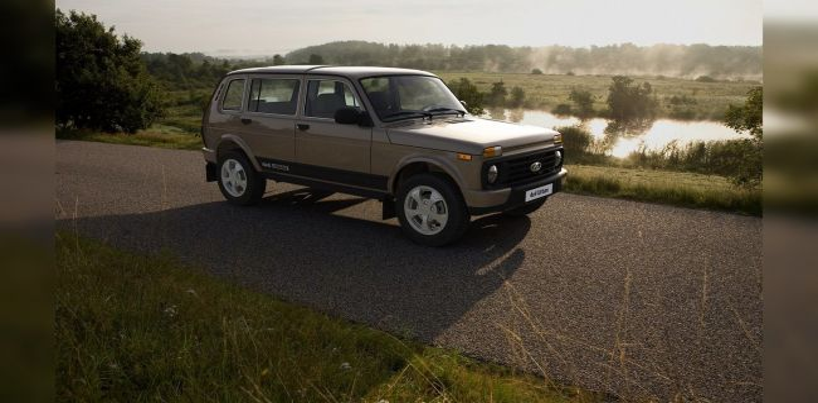 Lada 4×4 Vision может прийти на смену 5-дверной Lada Niva 4×4