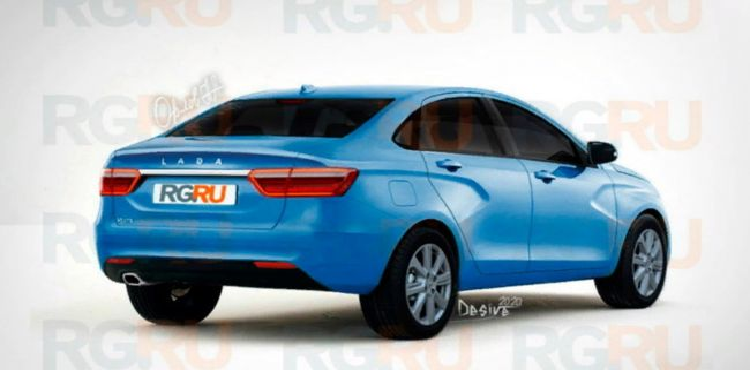 В Сети появились первые изображения седана Lada Vesta нового поколения